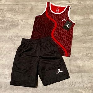 Nike Air Jordan Basketball Shorts & Tank Top Set